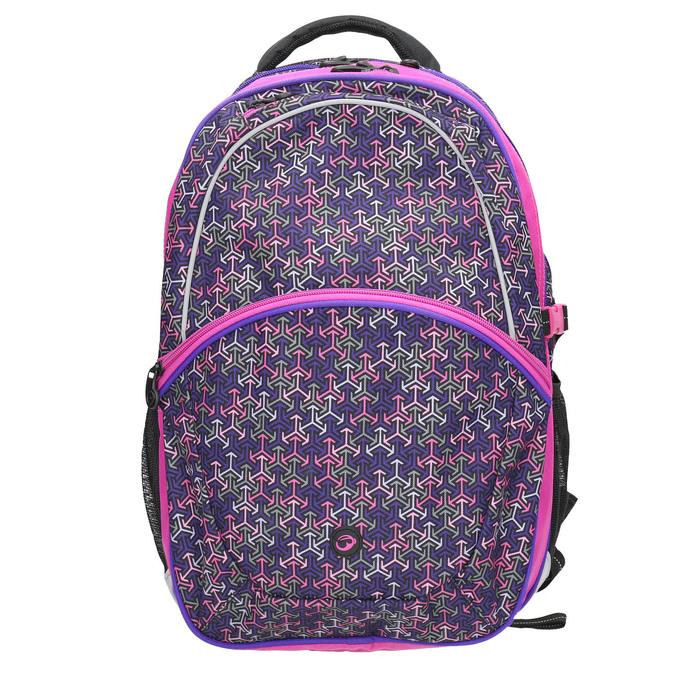 Školní batoh bagmaster, fialová, 969-5648 - 26