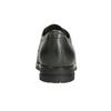 Kožené polobotky s kovovými cvoky bata, šedá, 526-9643 - 16