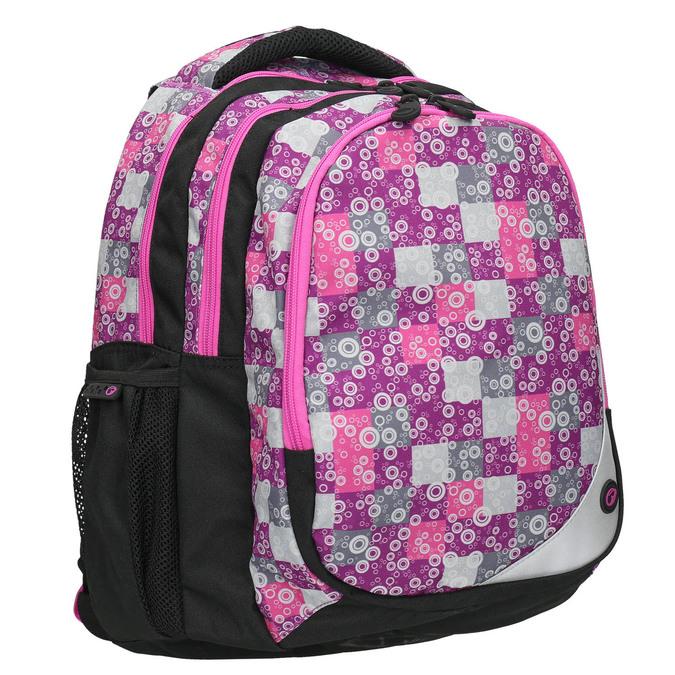 Školní batoh dívčí bagmaster, růžová, 969-5654 - 13