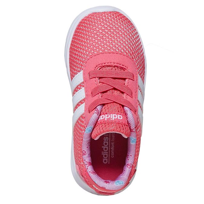 Růžové dívčí tenisky adidas, růžová, 109-5288 - 19