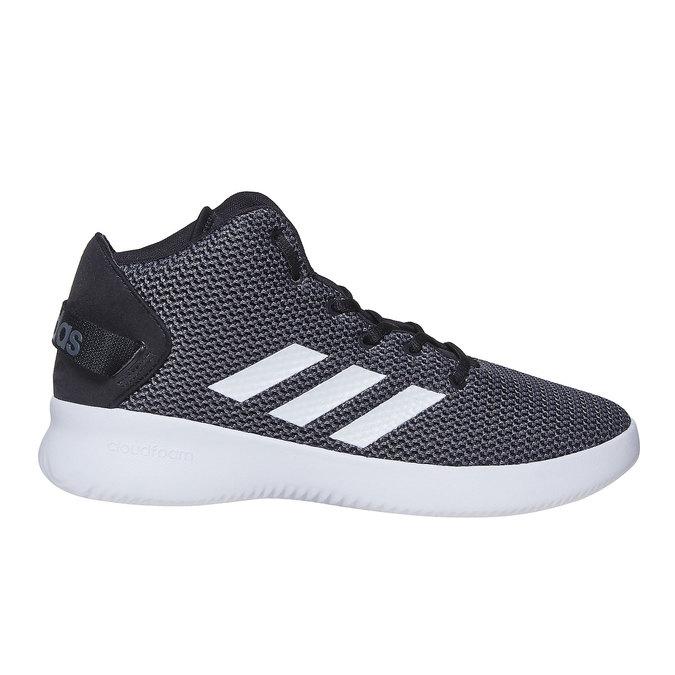 Pánské kotníčkové tenisky adidas, šedá, 809-6216 - 15