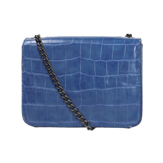 Modrá kabelka se strukturou bata, modrá, 961-9753 - 26