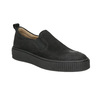 Kožená dámská Slip-on obuv bata, černá, 516-6613 - 13