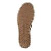 Dámské kožené tenisky weinbrenner, hnědá, 546-4604 - 17