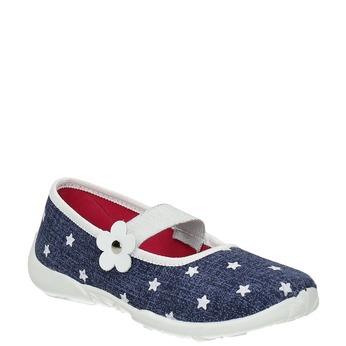 Domácí pantofle s hvězdičkami mini-b, modrá, 379-2215 - 13