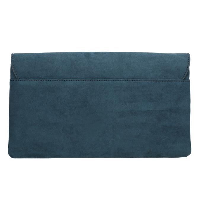 Dámské modré psaníčko s poutkem bata, modrá, 969-9665 - 26