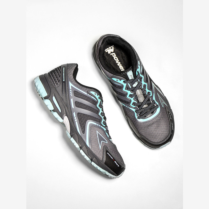 Dámská sportovní obuv power, šedá, 509-2226 - 19