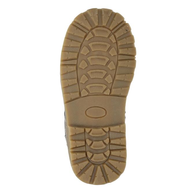 Dětská kotníčková obuv bubblegummers, šedá, 221-2606 - 19
