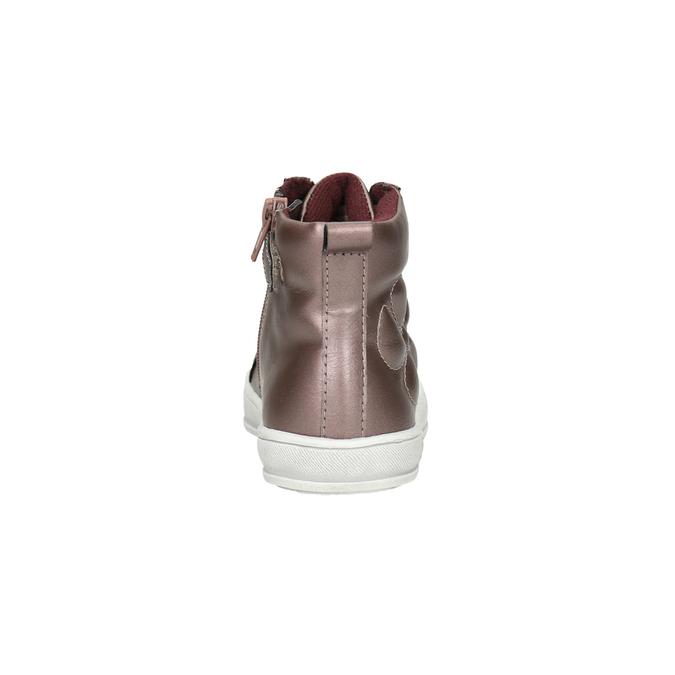 Dětské metalické tenisky mini-b, růžová, 321-5610 - 17