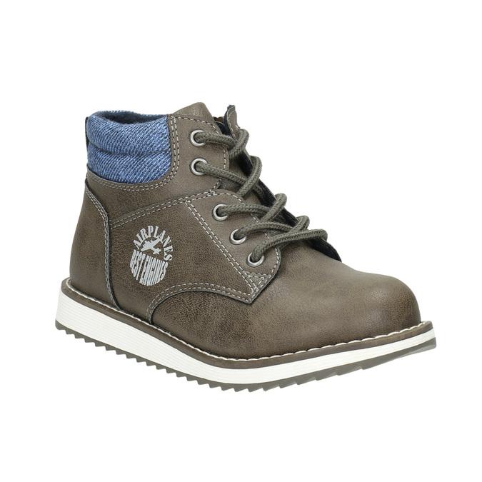 Chlapecká kotníčková obuv mini-b, hnědá, 211-3623 - 13