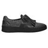 Dámské kožené Slip-on bata, černá, 516-6614 - 15