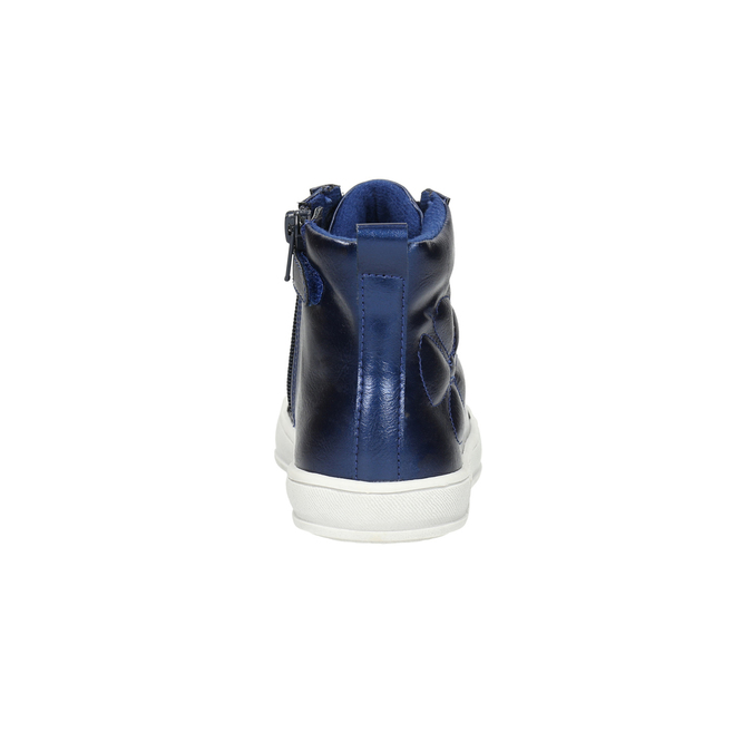Modré dětské kotníčkové tenisky mini-b, modrá, 321-9610 - 17