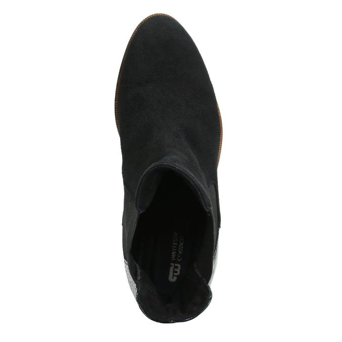 Dámská kožená Chelsea obuv classico-and-bellezza, vícebarevné, 516-0027 - 15