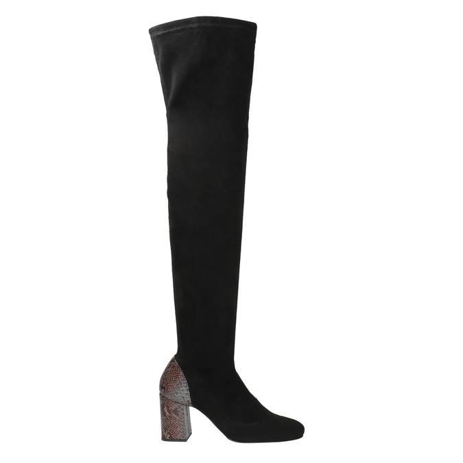 Dámské kozačky nad kolena classico-and-bellezza, černá, 796-6024 - 26