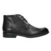 Kožená kotníčková obuv fluchos, černá, 824-6069 - 15
