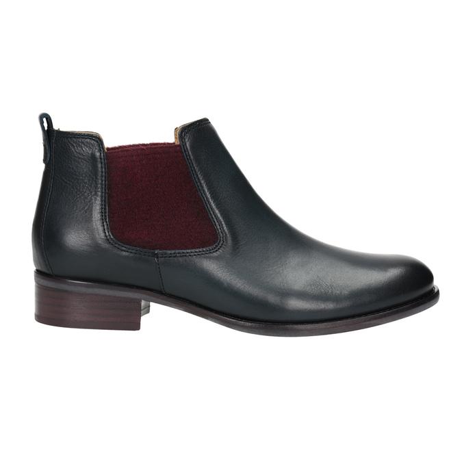 Kožené kotníčkové Chelsea Boots gabor, modrá, 516-4036 - 26