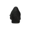 Kožené lodičky s mašlí gabor, černá, 623-6013 - 16
