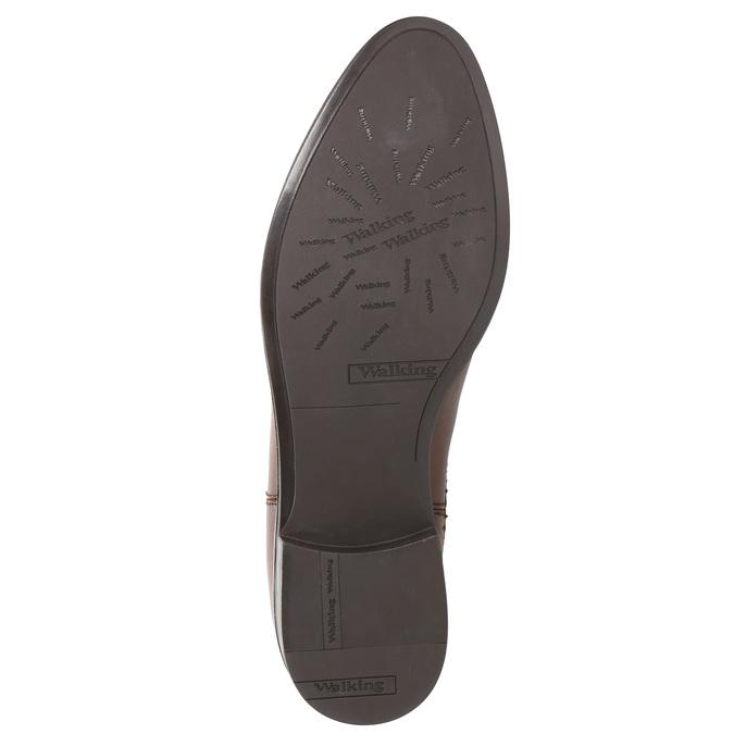 Kožená dámská Chelsea obuv bata, hnědá, 594-4635 - 26