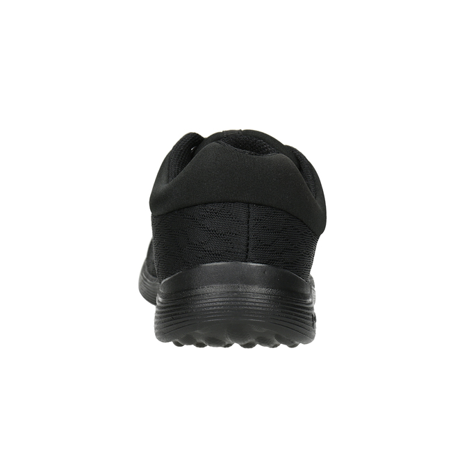 Dámské černé tenisky power, černá, 509-6203 - 16