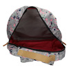 Batoh s barevným vzorem the-pack-society, šedá, 969-2085 - 15