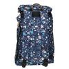 Batoh s barevným vzorem the-pack-society, modrá, 969-9076 - 16
