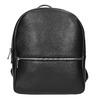 Kožený černý batoh bata, černá, 964-6240 - 26