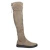 Hnědé dámské kozačky nad kolena bata, hnědá, 699-3634 - 15