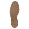 Pánská kotníčková obuv s prošitím bata, černá, 826-6614 - 26