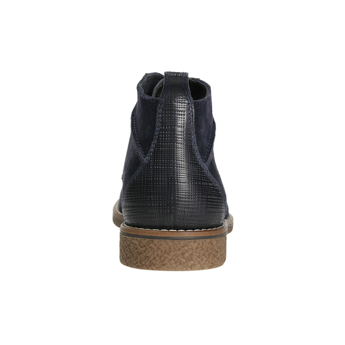 Modrá kotníčková obuv bata, modrá, 823-9615 - 17