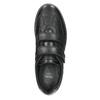 Neformální kožené polobotky comfit, černá, 824-6919 - 26