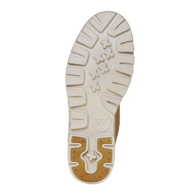 Dámská kožená kotníčková obuv weinbrenner, hnědá, 594-8323 - 26