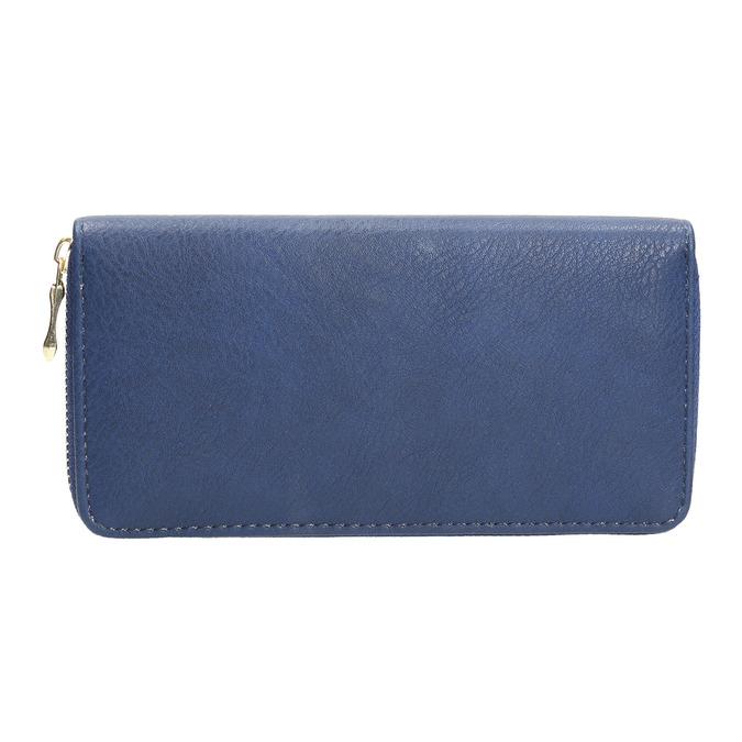 modrá dámská peněženka bata, modrá, 941-9180 - 16