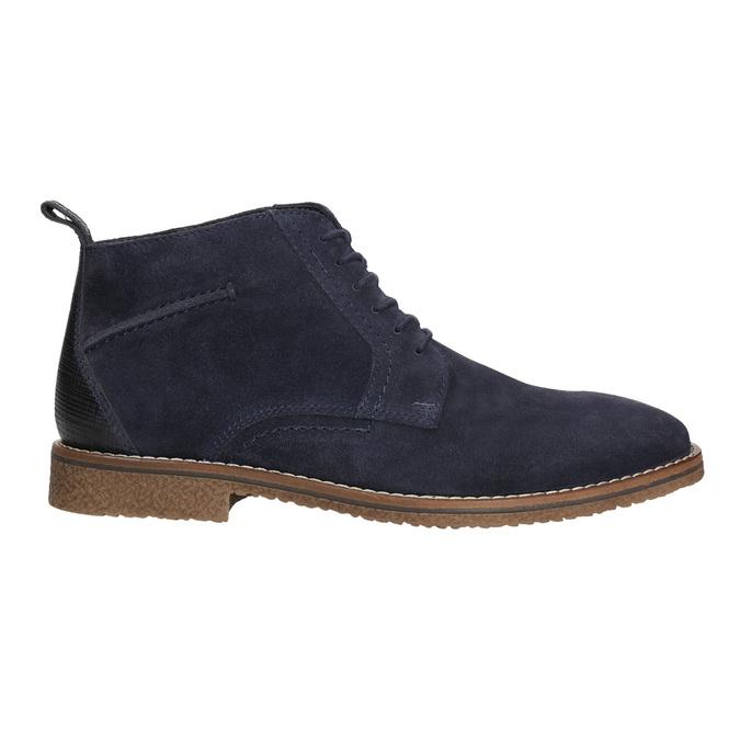 Modrá kotníčková obuv bata, modrá, 823-9615 - 15