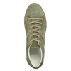 Dámské kožené khaki tenisky bata, zelená, 523-7604 - 26