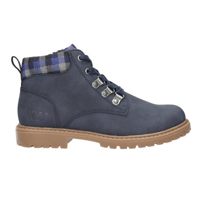 Modrá dětská zimní obuv weinbrenner-junior, modrá, 411-9607 - 15
