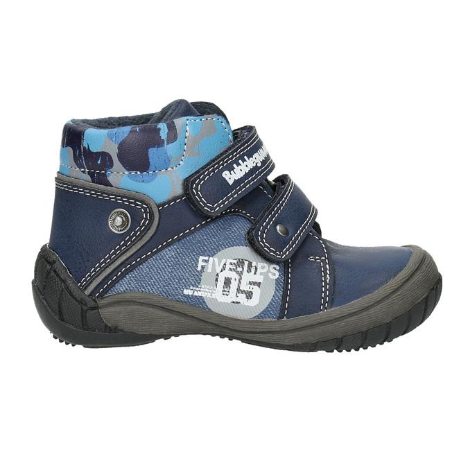 Kotníčková chlapecká obuv bubblegummers, modrá, 111-9618 - 15