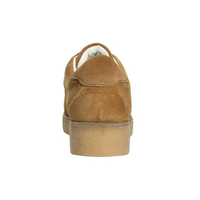 Hnědé kožené tenisky bata, hnědá, 523-8604 - 17