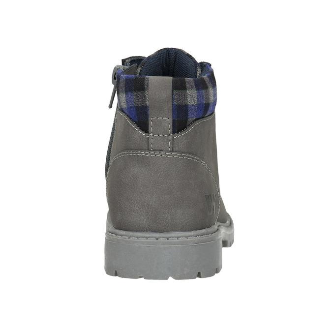 Dětská zimní kotníčková obuv weinbrenner-junior, šedá, 411-2607 - 17