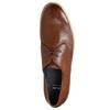Kožené polobotky s ležérní podešví bata, hnědá, 826-3412 - 26