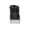 Kotníčková dětská obuv na zip mini-b, modrá, 311-9611 - 17