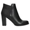 Kotníčkové kozačky na podpatku bata, černá, 791-6603 - 15