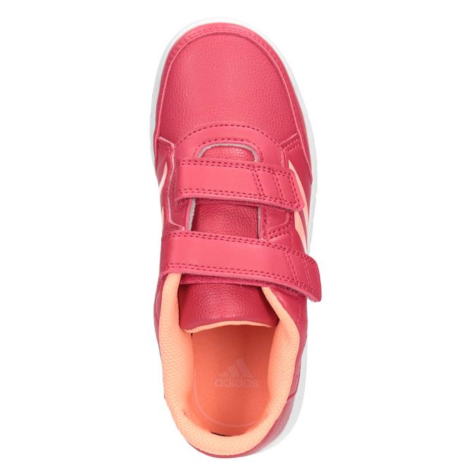 Růžové dětské tenisky adidas, růžová, 301-5197 - 15