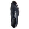 Ležérní kožené polobotky modré bata, modrá, 826-9681 - 26