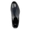 Dámská kožená Chelsea obuv bata, modrá, 594-9636 - 17