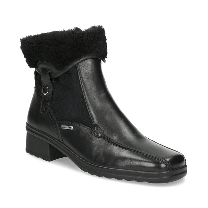 Dámská zimní obuv gabor, černá, 614-6127 - 13