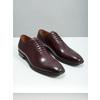 Pánské kožené Oxford polobotky bata, červená, 826-5683 - 18