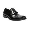 Pánské kožené Brogue polobotky bata, černá, 824-6227 - 13