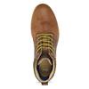 Kožená pánská kotníčková obuv bata, hnědá, 846-3645 - 17