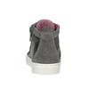 Kožená kotníčková obuv dětská bubblegummers, šedá, 123-2602 - 16