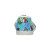 Dětská domácí obuv s autíčky bata, modrá, 279-9105 - 16